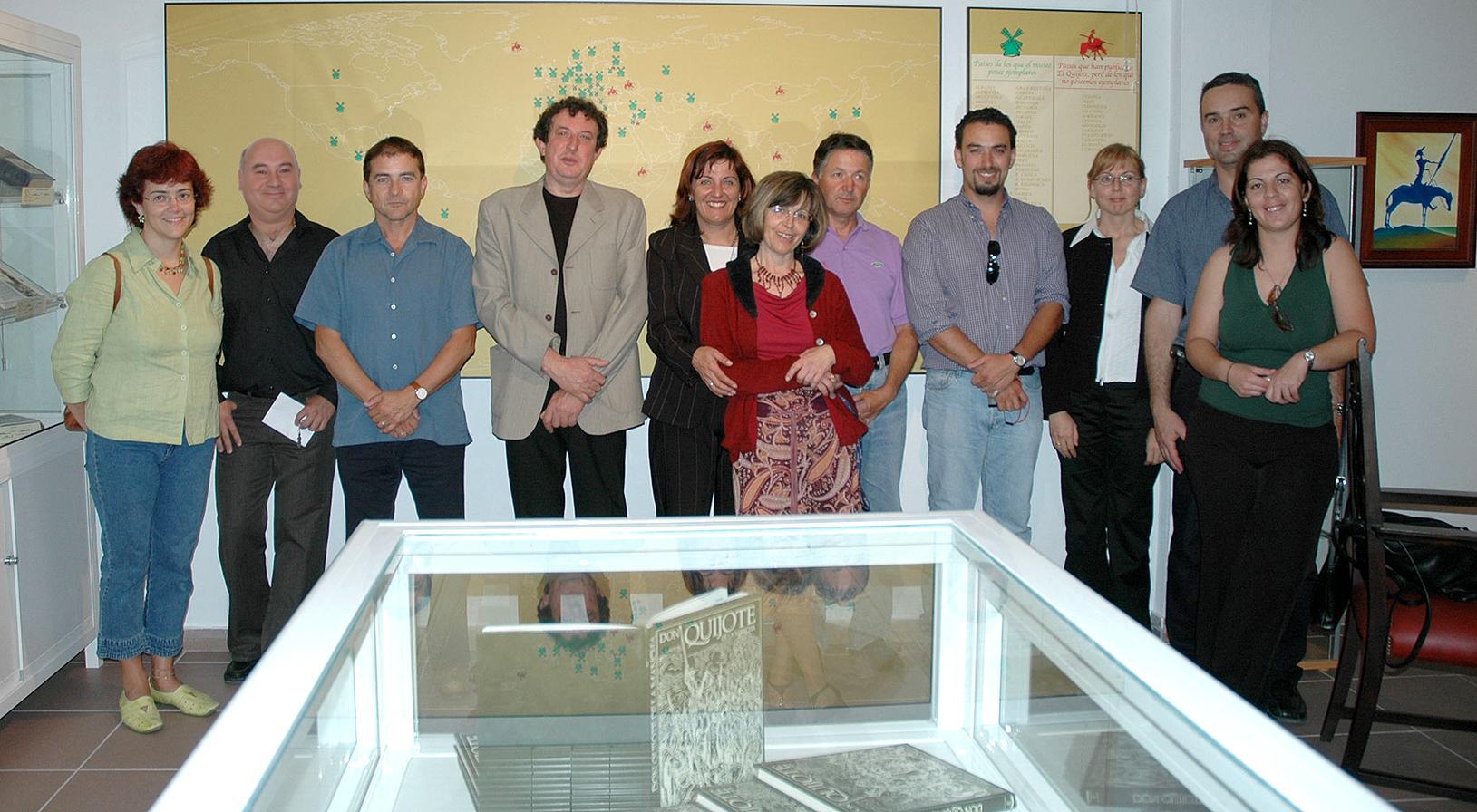 2º  grupo profesores que logran el museo