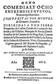 Ocho comedias y ocho entremeses, de Cervantes