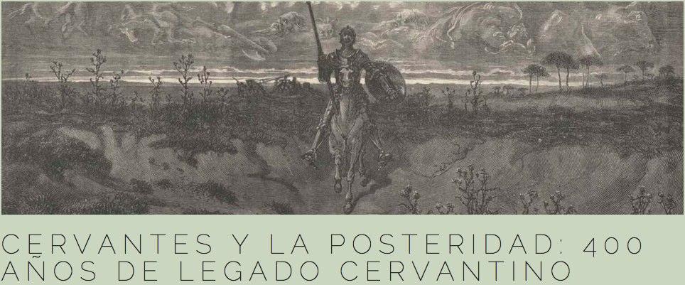Cervantes y la posteridad. Universidad de Cantabria y Real Sociedad Menéndez Pelayo (12-14 de sept)