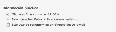 Presentación del micrositio Cervantes en la BNE. Biblioteca Nacional de España