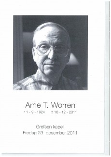 Arne Worren